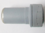 Polyplumb Push Fit 28mm Fitting to 22mm Pipe Reducer - 29P06028
